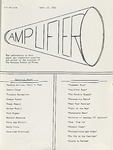 The Amplifier - v. 1, no. 1 by Associated Students of the Montana School of Mines