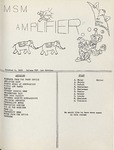 The Amplifier - v. 2, no. 1 by Associated Students of the Montana School of Mines