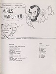 The Amplifier - v. 2, no. 8(a) by Associated Students of the Montana School of Mines