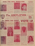 The Amplifier - v. 15, no. 9 by Associated Students of the Montana College of Mineral Science and Technology