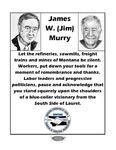 Jim Murry Memorial Memory Book