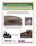Assisting a Local Animal Shelter by J. J. Potvin and Jim Strande