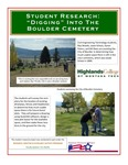 Space Utilization for the Boulder Cemetery