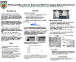 Wetting and Reactive Air Brazing of BSCF for Oxygen Separation Devices