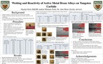 Wetting and Reactivity of Active Metal Braze Alloys on Tungsten Carbide by Hayden Peck and Alan Meier, Ph.D.