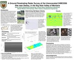 A Ground Penetrating Radar Survey of the Unexcavated 24BE2206 Site Near Dewey, in the Big Hole Valley of Montana by Jacob Clarke, Andrew Wilson, Michael Masters, and Marvin Speece