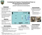 Investigating the Impacts of Varying External Power on Bio-electrochemical Denitrification by Autumn Lineback, Daqian Jiang, and Taymee Brandon