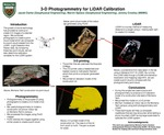 3-D Photogrammetry for LiDAR Calibration by Jacob Clarke, Marvin Speece, and Jeremy Crowley