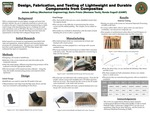 Design, Fabrication, and Testing of Lightweight and Durable Components from Composites