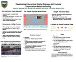 Developing Interactive Digital Signage to Promote Exploration-Based Learning